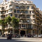buitenkant la pedrera barcelona