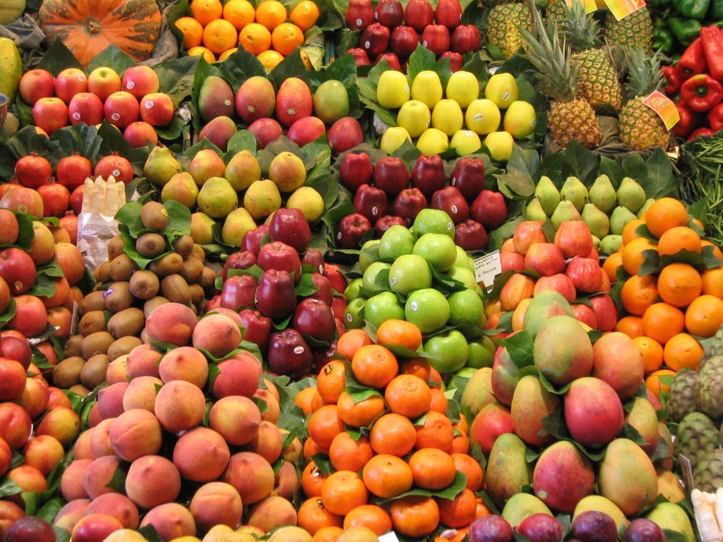 Vers fruit in Barcelona
