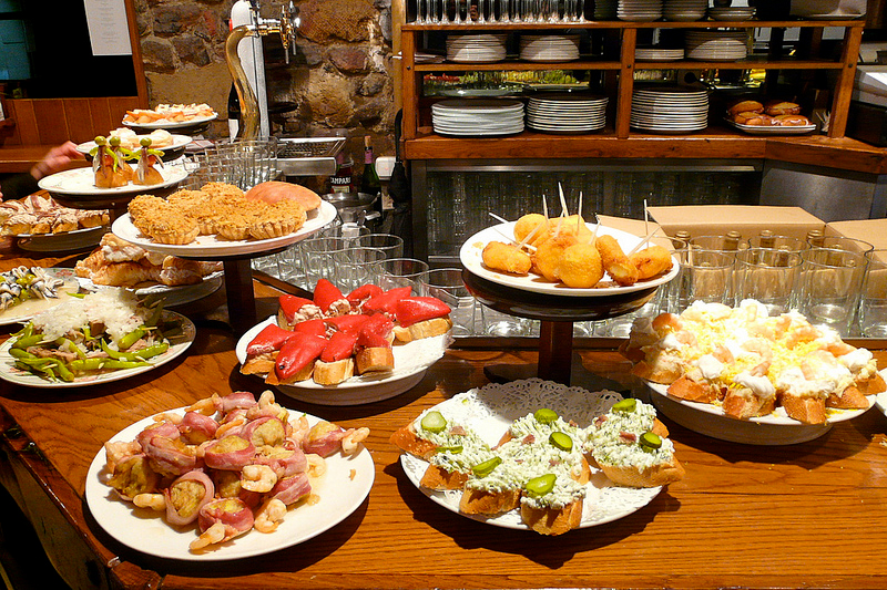 Gratis tapas bars in Barcelona