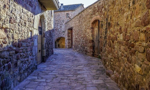 dorp in catalonie