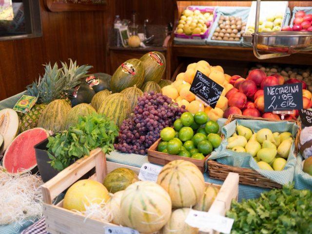 groente en fruit op la boqueria