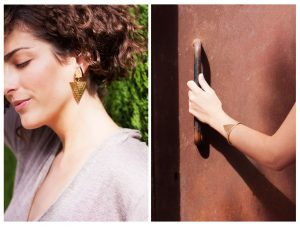 Divinity earrings and bracelet