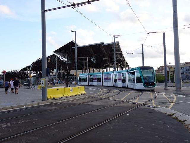 tram bij glories