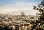 uitzicht over barcelona, inclusief sagrada familia