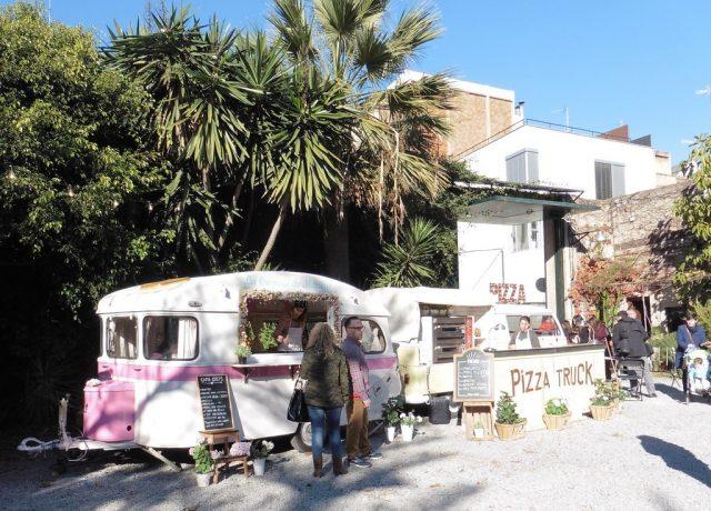 foodtrucks bij Palo Alto Market Barcelona