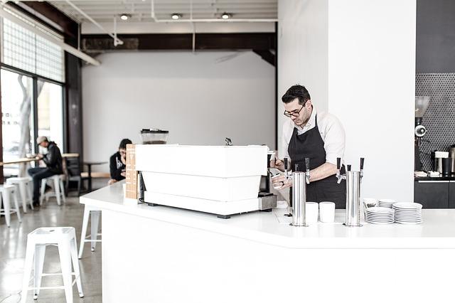 witte koffiebar