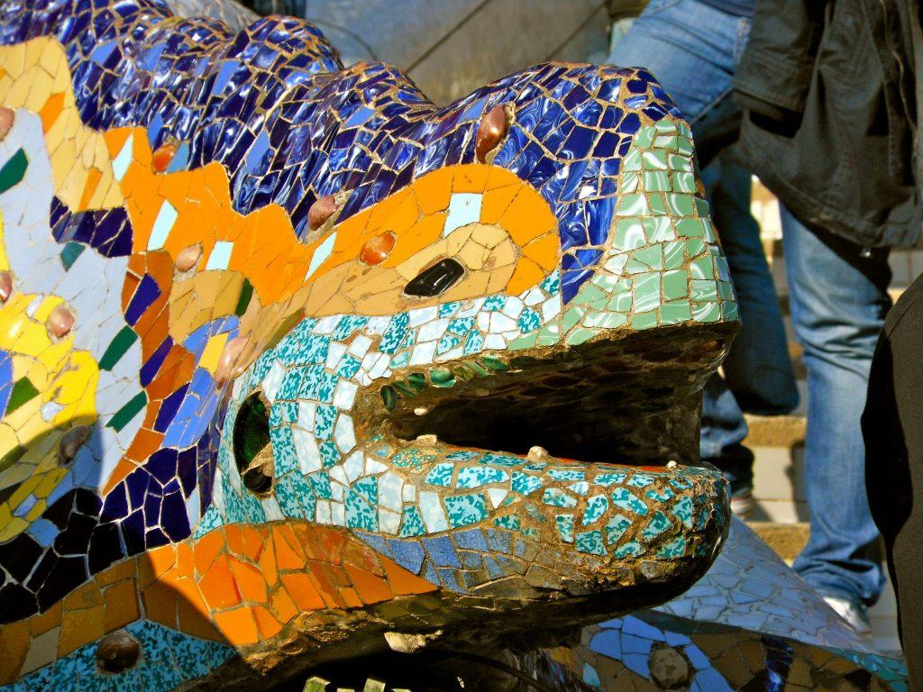 mozaiek park guell