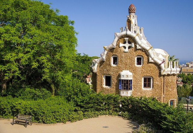 park guell huis