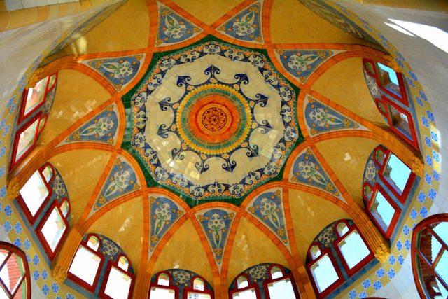 plafond sant pau