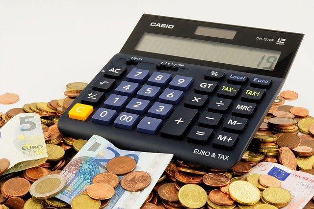 geld en rekenmachine