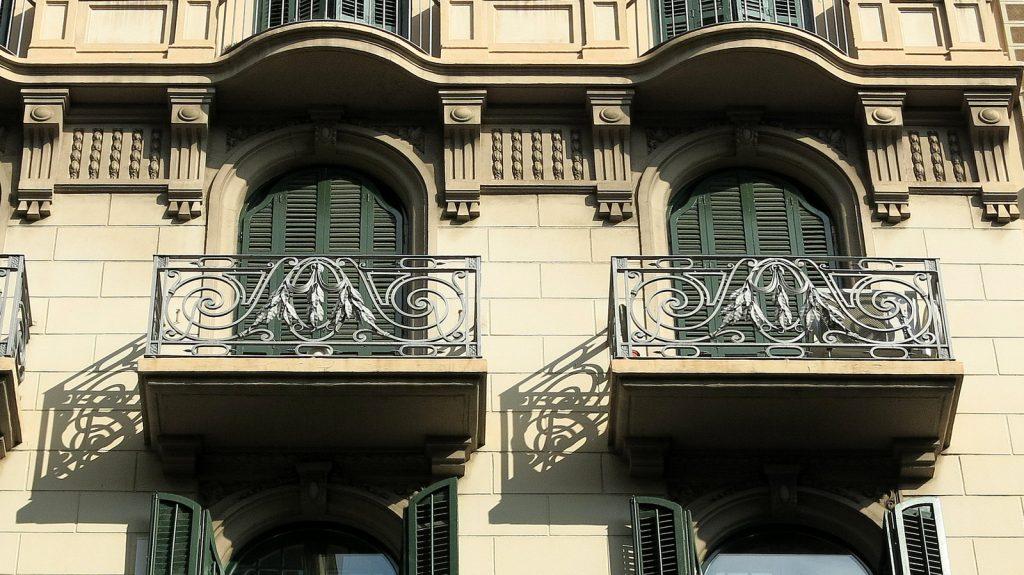 appartementen met balkon in barcelona