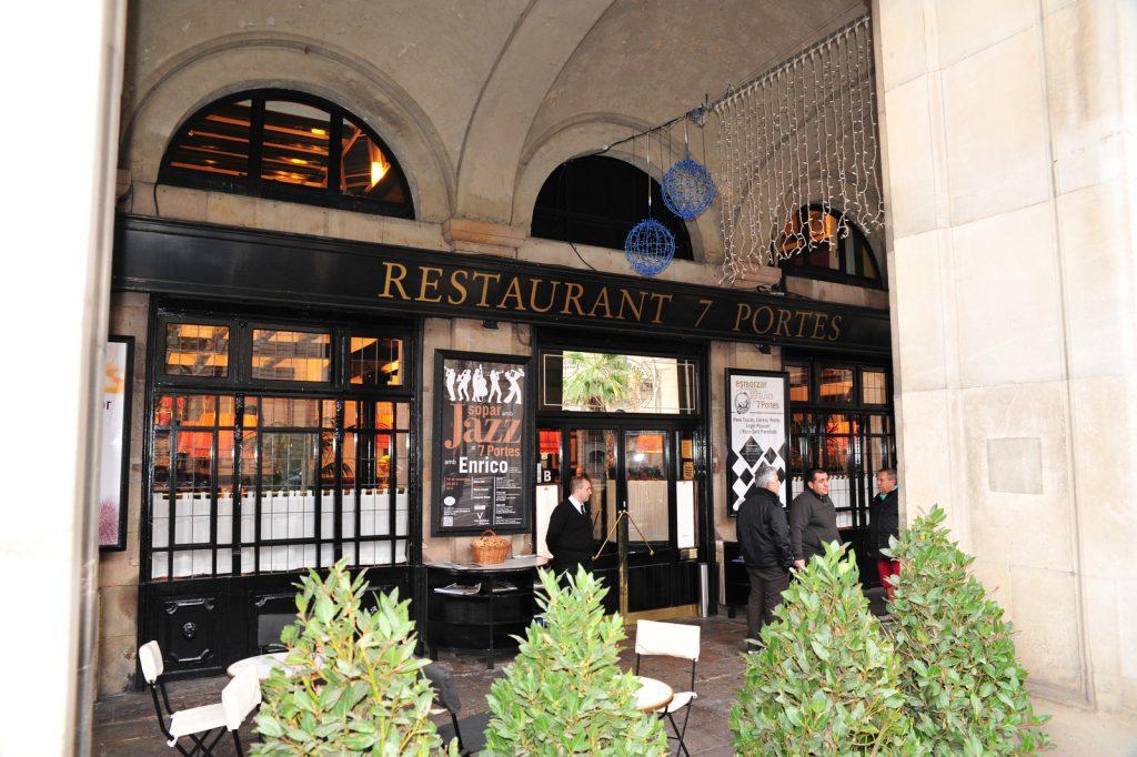 restaurant 7 portes