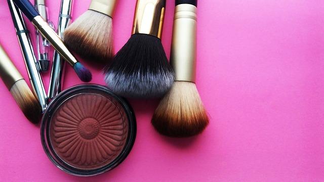 make-up kwasten en blush