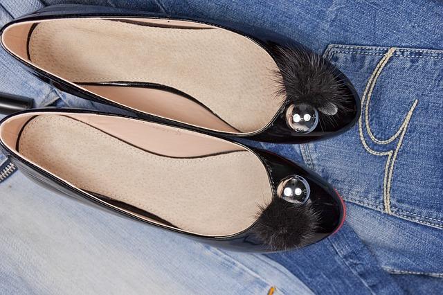 zwarte ballerina schoenen