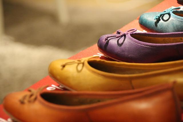 diverse ballerina schoenen