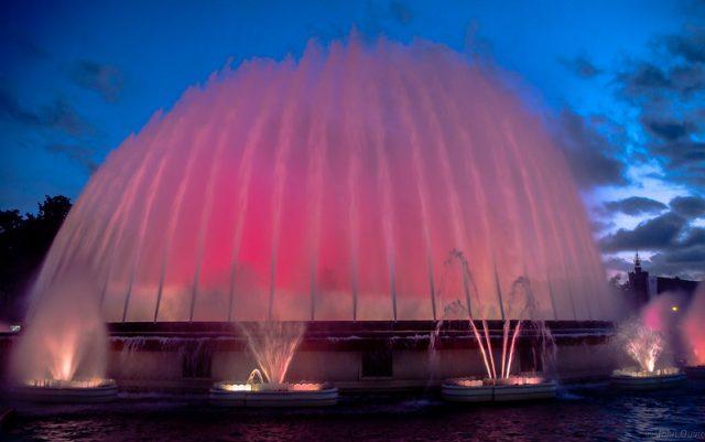fontein van montjuic