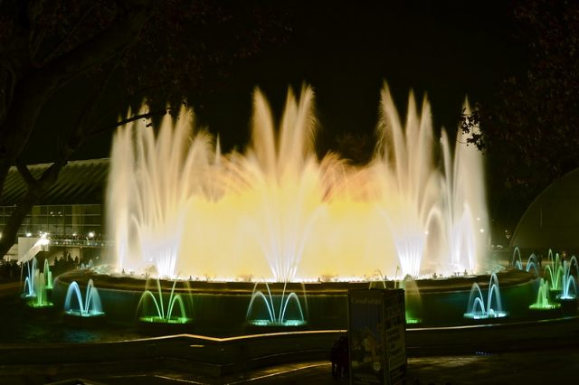 fontein montjuic