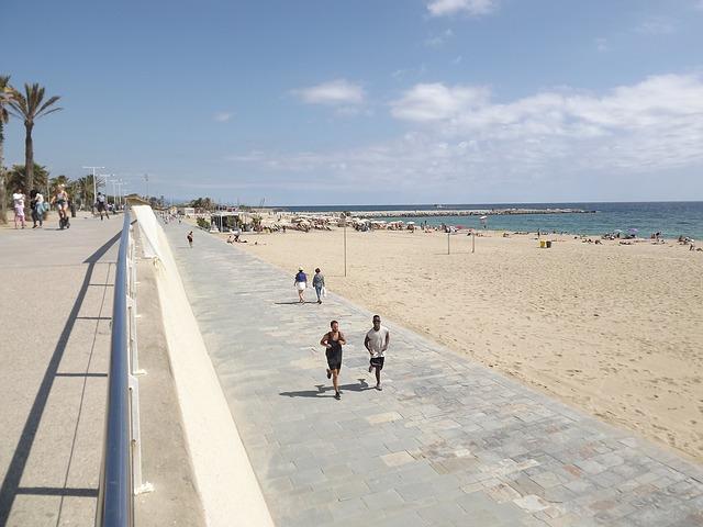 boulevard strand barcelona