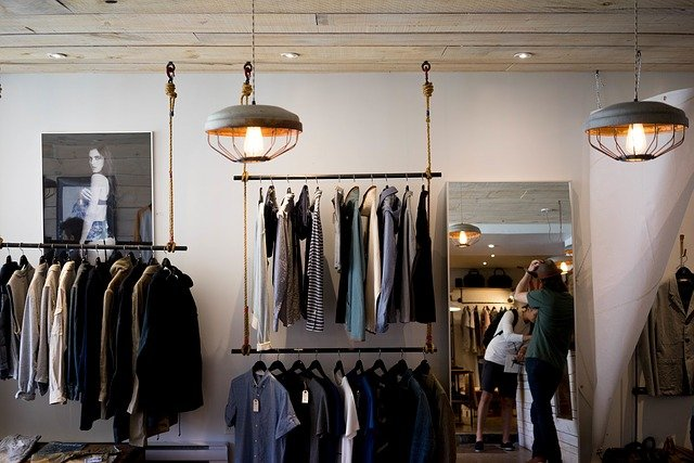 interieur kledingwinkel