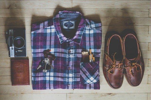 blouse met attributen