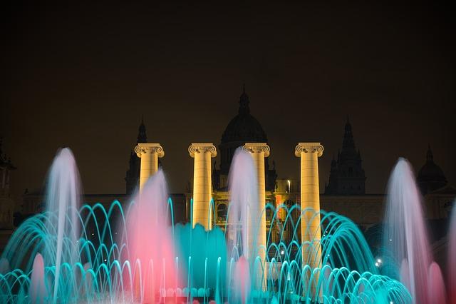magische fontein van montjuic