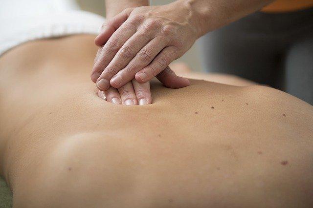 rug krijgt massage