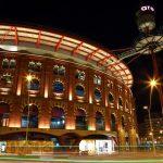 nacht bij winkelcentrum arenas de barcelona