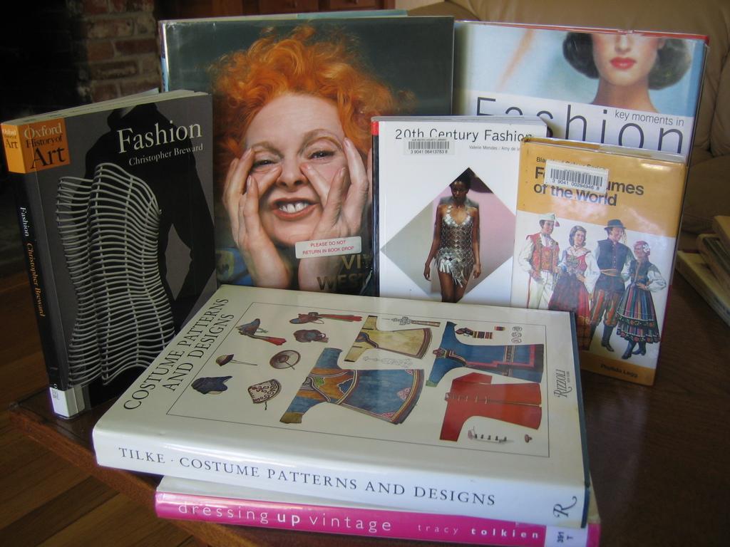 mode- en stijlboeken voor metamorfose