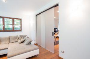 schuifdeuren tussen slaapkamer en keuken
