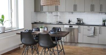moderne lichte keuken