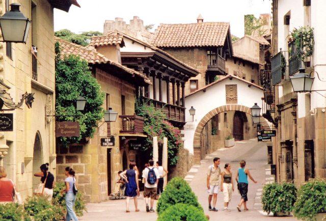 straatje in poble espanyol