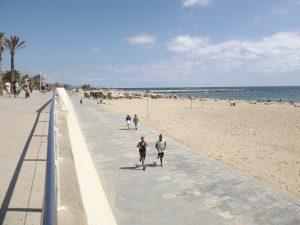 strand en boulevard barcelona