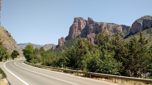 weg in catalonie
