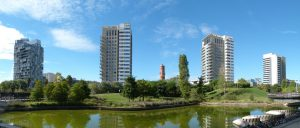diagonal mar park met flats