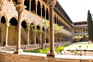 binnentuin klooster pedralbes barcelona