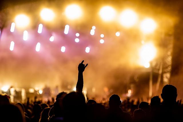 festival met felle lichten