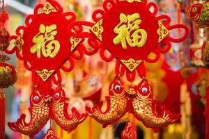 chinese versieringen voor chinees nieuwjaar