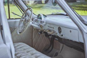 interieur klassieke auto