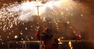 correfoc tijdens fiesta mayor