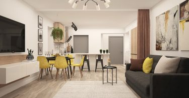interieur modern appartement