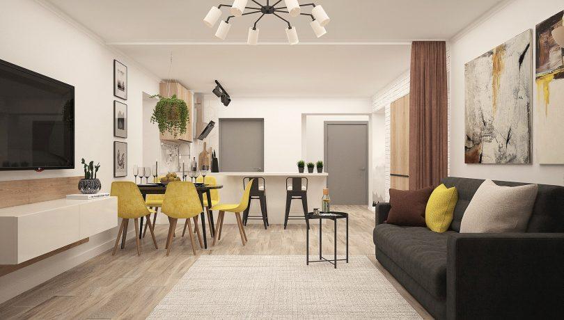 interieur modern appartement