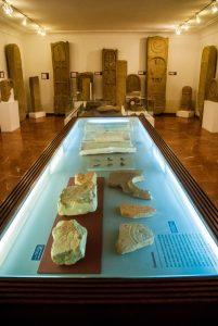 elementen archeologisch museum