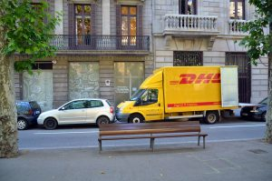 parkeren in winkelgebied barcelona