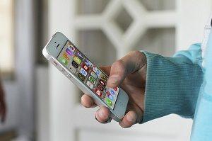 telefoon met apps