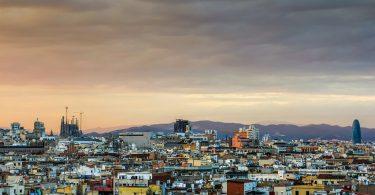 uitzicht over wijk barcelona