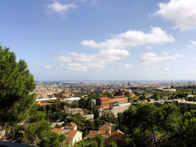 uitzicht over sarria-sant gervasi