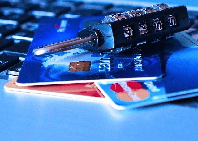 credit card en sleutel