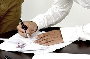 tekenen van contract
