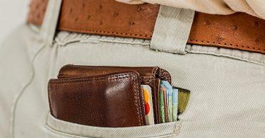 broekzak met portemonnee