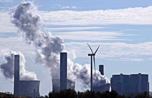 uitstoot van fabrieken